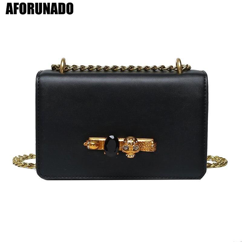 Bolsas de luxo bolsas femininas designer moda gem lock viagem sacos de ombro do vintage pu couro corrente crossbody sacos para as mulheres 2020