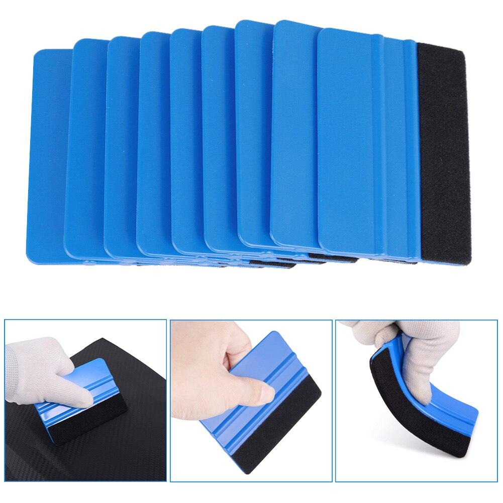 10 шт синий скребок фетровые края скребок, автомобильные наклейки виниловое оборачивание для & ТИНТ инструменты