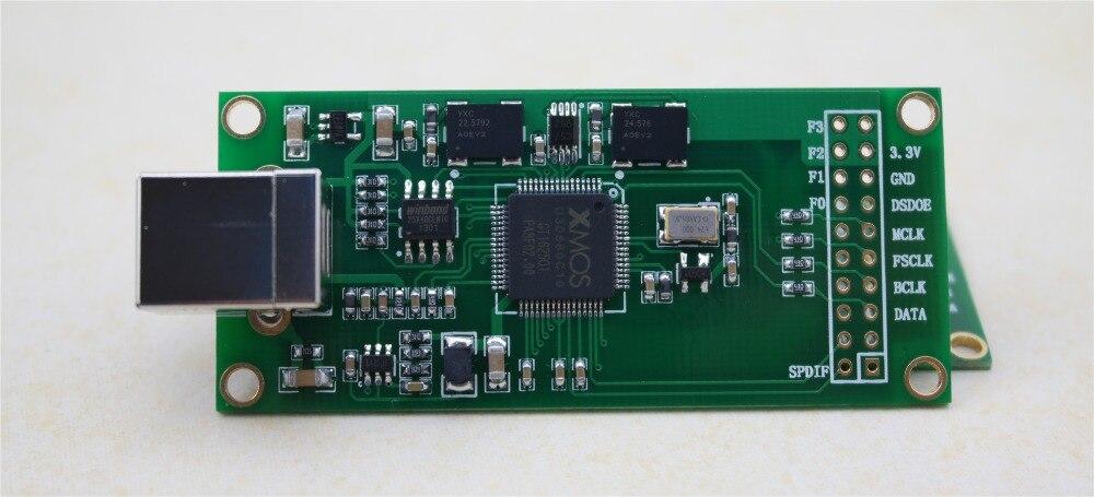 Envío Gratis XU208 XMOS interfaz de audio digital USB U8 versión mejorada de diferentes pasos sensor de módulo