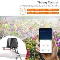 EWelink     vanne deau gaz intelligente Zigbee  controle dautomatisation  Compatible avec Amazon Alexa et Google Home Assistant