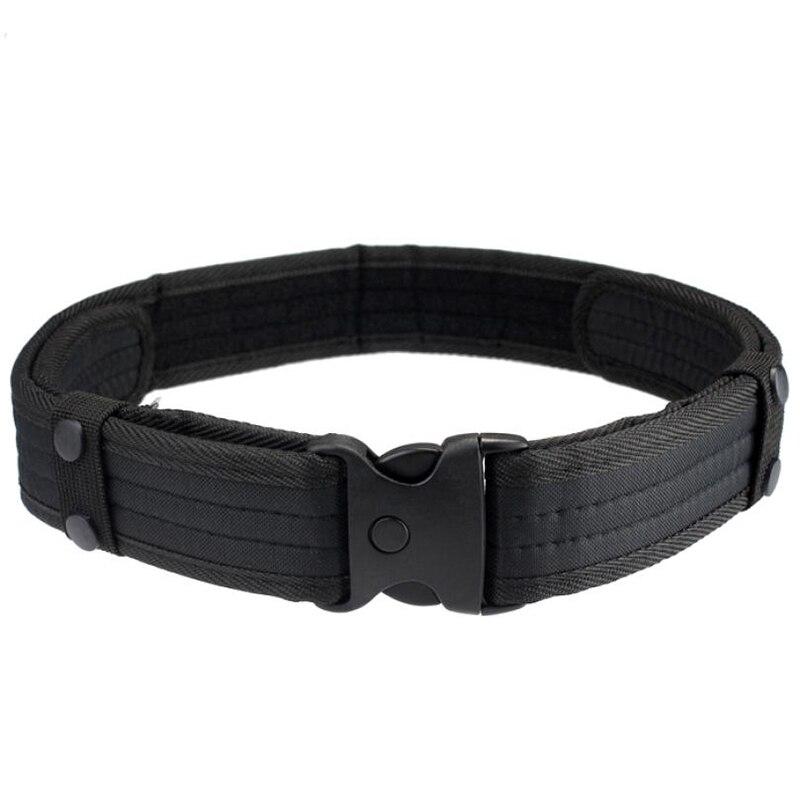 Nuevos cinturones para hombres, cinturones para caza de camuflaje de bosque de lujo, cinturón de alta calidad militar táctico