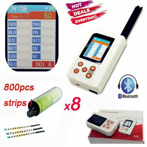 Analyseur durine portable test durine usb bluetooth (option) BC401 800 pièces bandelettes de test