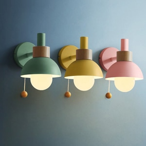Modern Wall Lamp Living Room Bedroom Bedside Sconce Creative TV Background Wall Corridor Wall Lamps Decor Dining Room Light