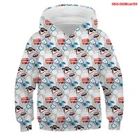 fashion car print sweater toddler boys girls sweatshirt casual hoodies baby graphic harajuku long sleeve hooded children clothes