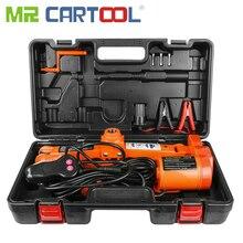 Mr Cartool-cric électrique 3T 12V   Voiture, levage de ciseaux, 3ton doutils de réparation de pneus, Jack de voiture, 43.5cm de hauteur
