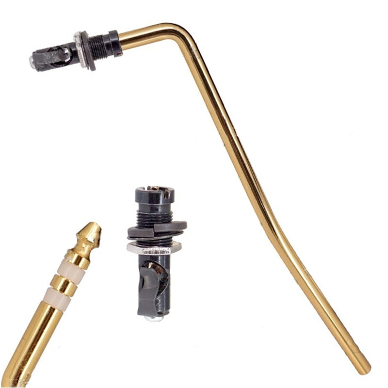 A Set of Direct Insertion Styles Tremolo Arm Whammy Bar and Arm socket Jack For Electric Guitar accessories parts enlarge