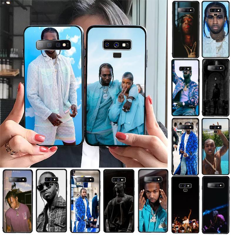 YNDFCNB Rapper Pop Tampa Do Telefone Para Samsung Galaxy S20 S10 Além de Fumaça S10E S5 S6 S7edge S8 S9 S9Plus S10lite 2020