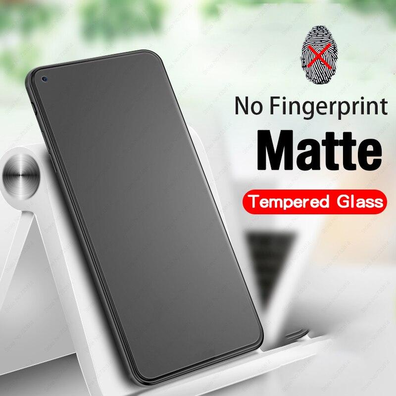Cristal templado mate de pantalla completa para honor 30 s 9a 9c 9s play 3 4t vidrio protector para Huawei p40 lite e y5p y6p y7p nova 7