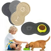 pet dog puppy cat feeding mat pad cute cloud shape silicone dish bowl food feed placement pet accessories dropship