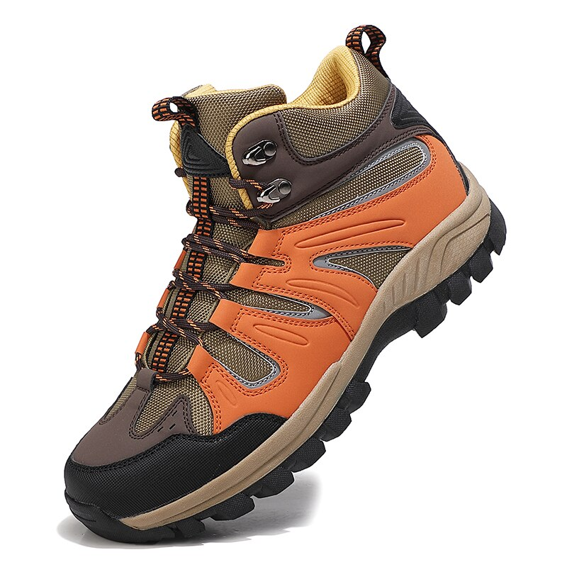 Men Hiking Shoes Autumn Trekking Mountain Climbing Boots Sneakers Athletic Men Outdoor Sport Shoes Mens Shoes Sneakers 46