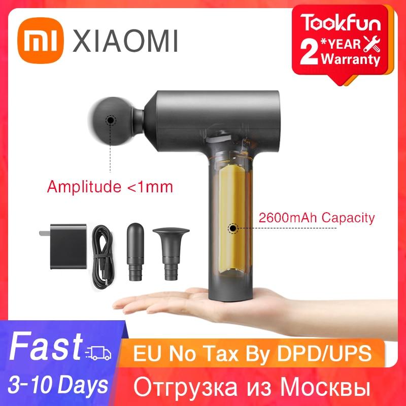 Xiaomi Mijia Fascia Gun Massage Gun Body Fascia Relaxation With Portable Bag 45dBLow Noise Relieve Deep Muscle Soreness Exercise