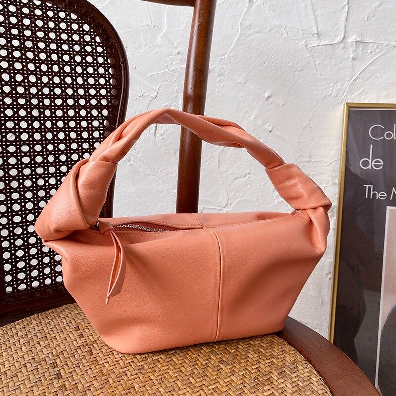 2020 mais recente marca de luxo estilo designer hobo bolsas femininas para bolsa feminina baguette lady top-lidar com mini saco de couro