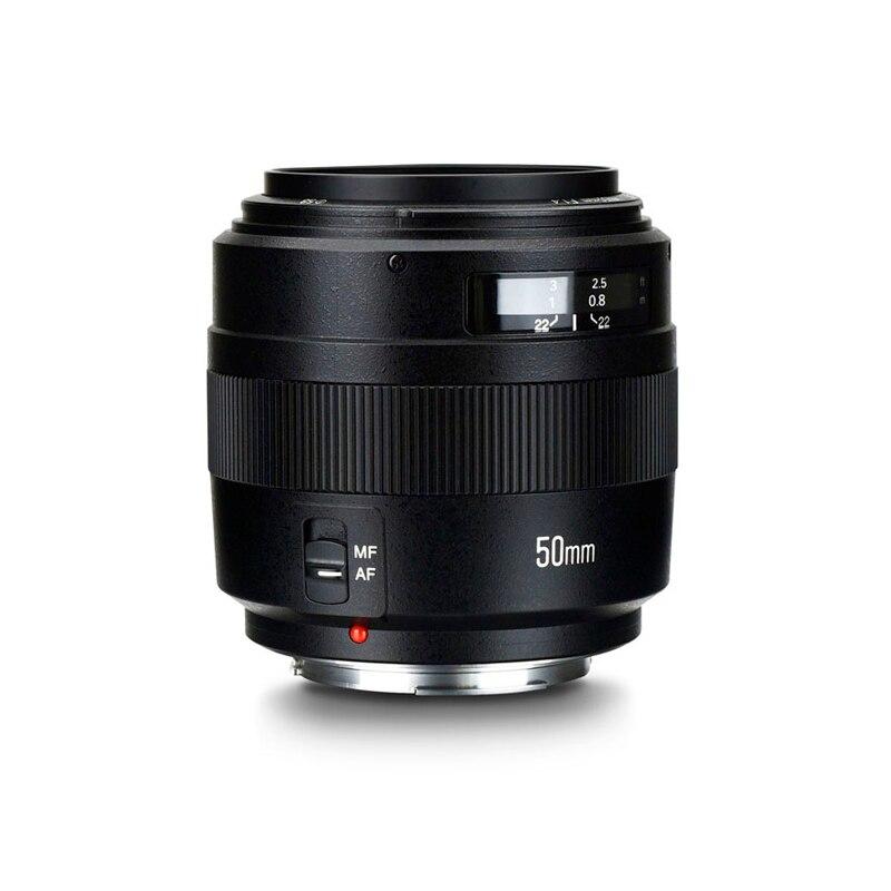 YN50mm f1.4 C Lens YN50mm F1.4 Standard Prime Lens Large Aperture Auto Focus Lens for Canon EOS 70D 5D2 5D3 600D DSLR Camera