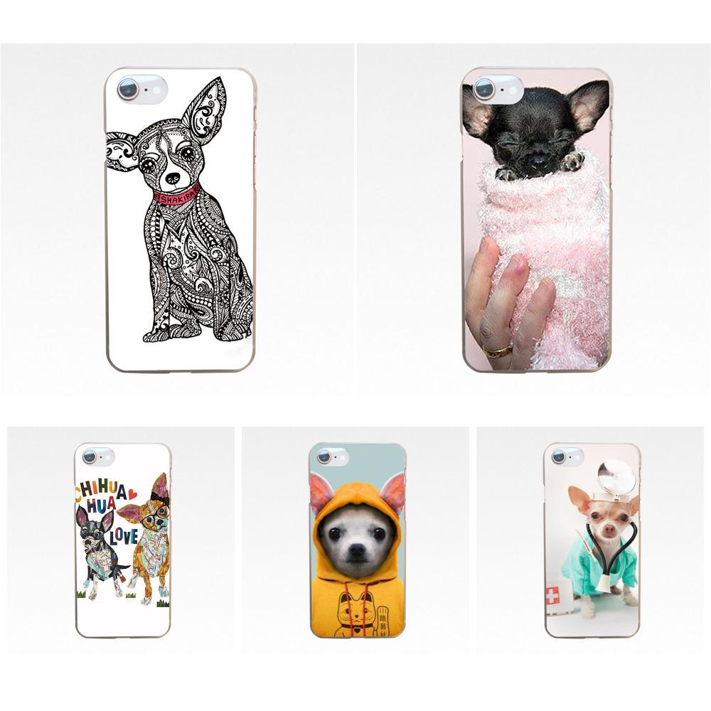 Patrón de dibujos animados de perro Chihuahua, funda de teléfono para Xiaomi Redmi 3 3S 4 4A 4X 5 6 6A 7 K20 Note 2 3 4 5 5A 6 7 Plus Pro