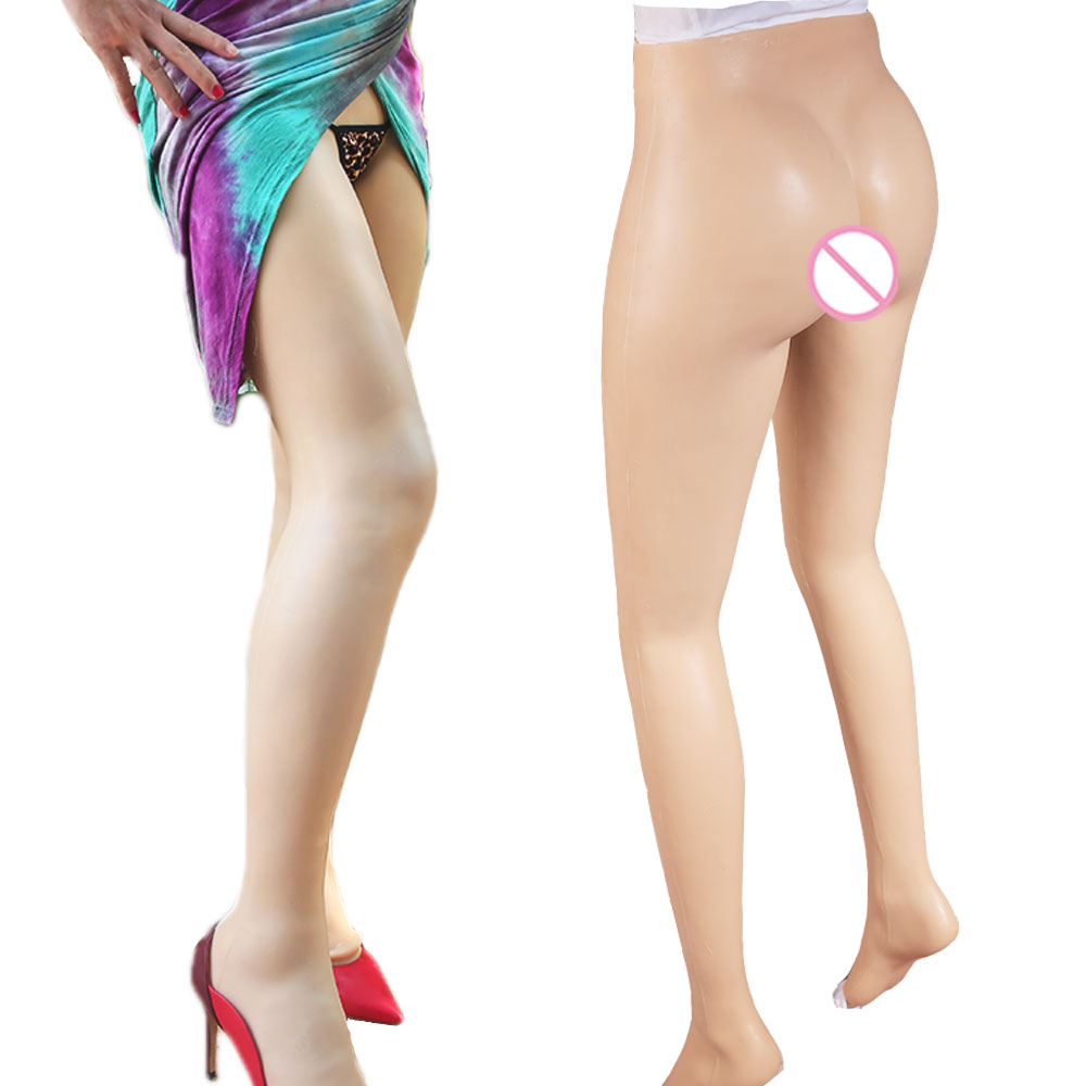 ¡Nuevo! Realista Vagina de silicona bragas transexual, travesti coño pantalones transgénero Artificial sexo falso ropa interior Hip potenciador