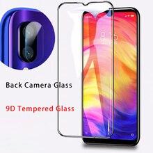 9D kamera temperli cam Xiaomi Redmi için 8A 7A 6A Lens koruyucu cam S2 gitmek ekran koruyucu için Redmi 8 7 6 Pro 5 artı