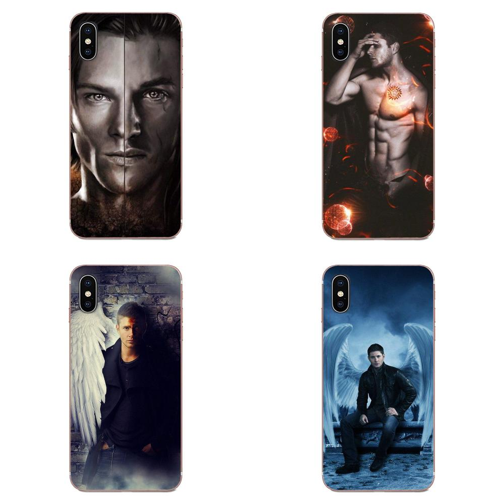 Dean Winchester sobrenatural para Huawei Honor 5C 5X 6A 6X 7 7A 7X 8 8A 8S 8X 9 10 30 Lite Pro Y6 II Y7 Y9 primer 2019