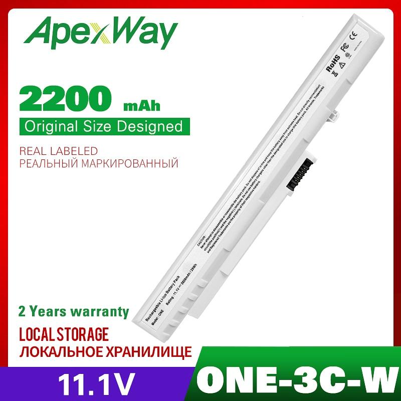 2200MAH Blanco batería para Acer Aspire una LC? BTP00.045 UM08A51 UM08A71 UM08A73...