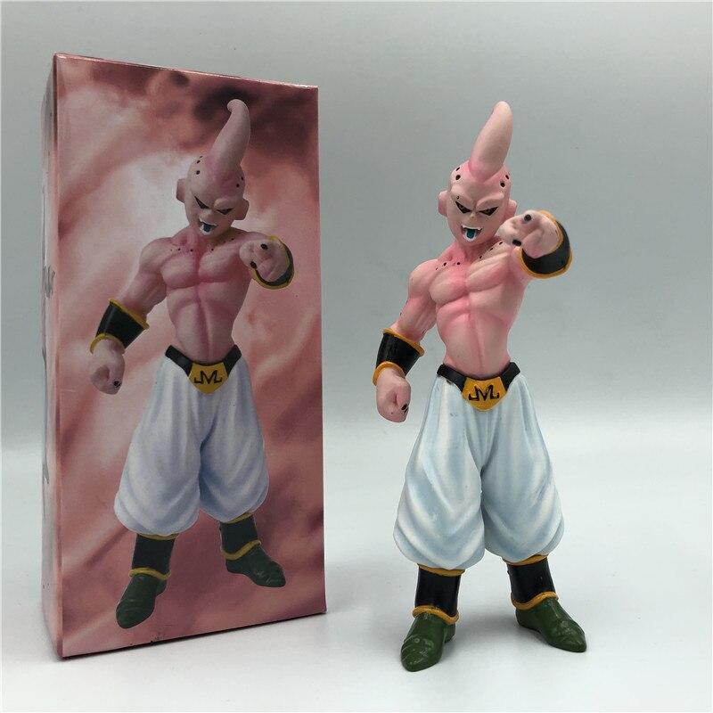 Dragon Ball Z Majin Buu конечной формы стоящий вер. ПВХ фигурка DBZ Boo Коллекционная кукла модель 14 см