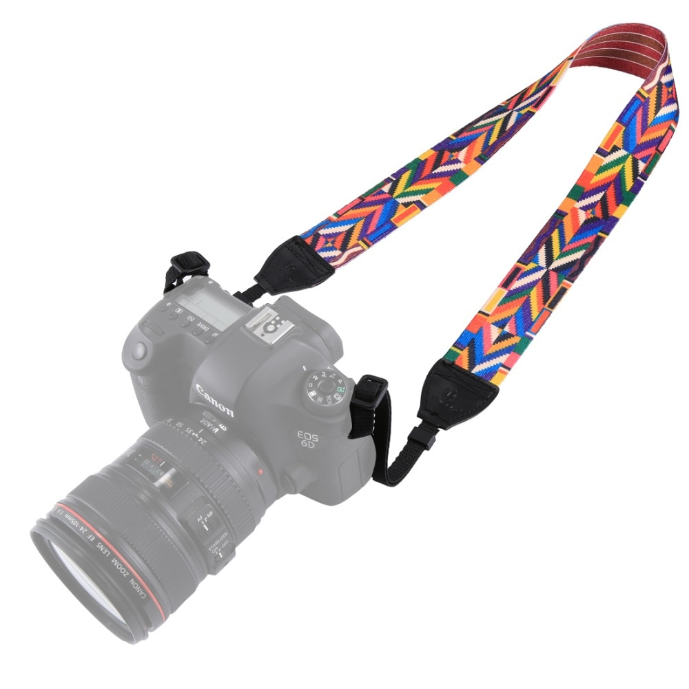 Шейный ремень для sony, Canon, SLR/DSLR камеры s в Ретро этническом стиле многоцветные серии плечевой ремень камеры ремень