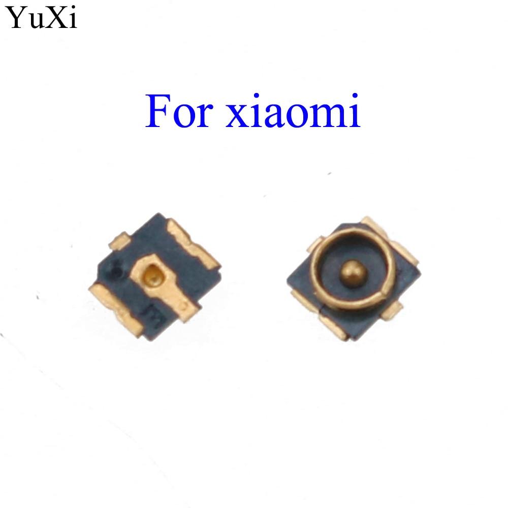 YuXi nuevo Wifi señal FPC conector para Xiaomi mi 5 mi 4 mi 3 2A/rojo mi 1S conector de placa base de Antena 2 Note 3G 4G 3 4