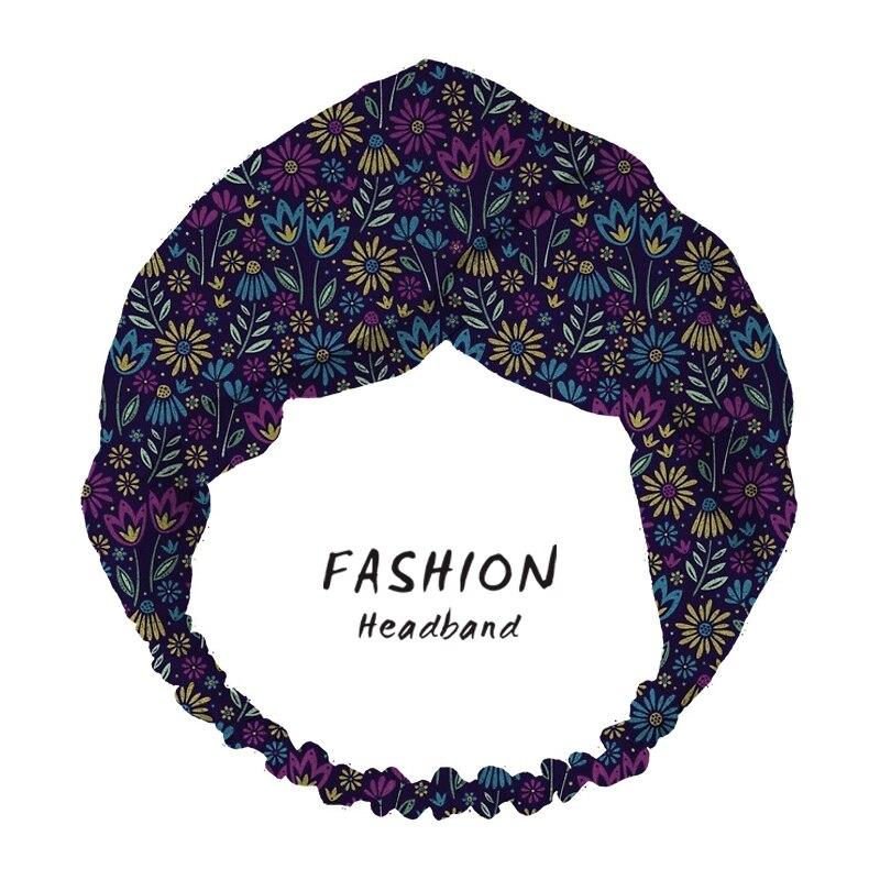 2020 женские аксессуары для волос, повязка на голову, повязка на голову, цветущие растительные головные уборы, головные уборы, банданы, резинк...