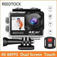 Экшн-камера S9 Pro, 4K, 60 кадров/с, 24 МП, сенсорный ЖК-экран 2,0 дюйма