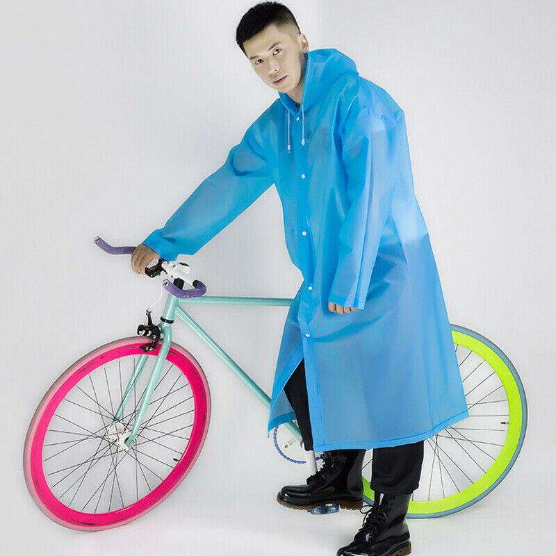 Chaqueta de lluvia ligera para mujer Kagoul con capucha Pac A Way impermeable Mac abrigo de lluvia con capucha colorido