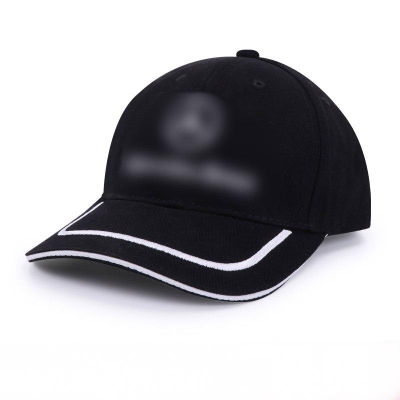 Gorra de visera 2019 para Mercedes Benz w203 w204 w205 w211 w201 w213 w212 gorra de béisbol gorra de camionero Logo Sunbonnet accesorios de Auto