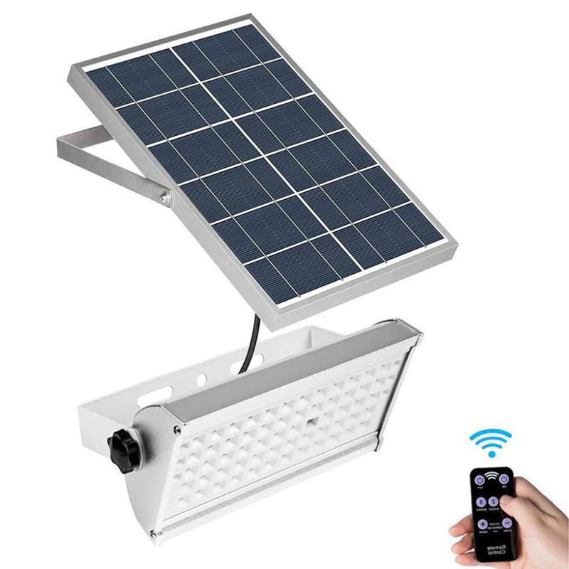 12W Solar Split Wall Light PIR Motion Senso Outdoors Solar Garden Light Waterproof Remote Indoor Outdoor Lighting Wall Lamp