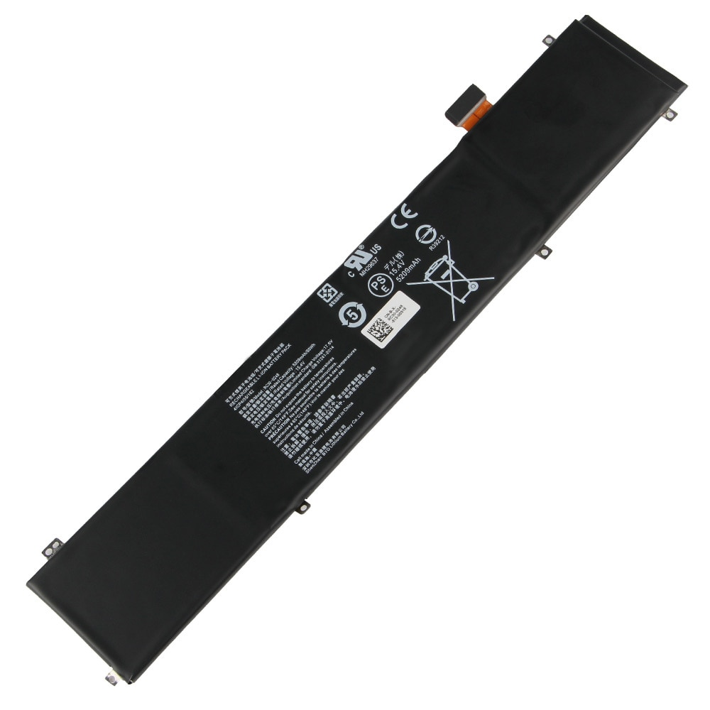 Replacement Laptop Battery RC30-0248 For Razer 2018 Blade15 RZ09-02386 RZ09-02385 Rechargeable Battery 5209mAh With Free Tools enlarge