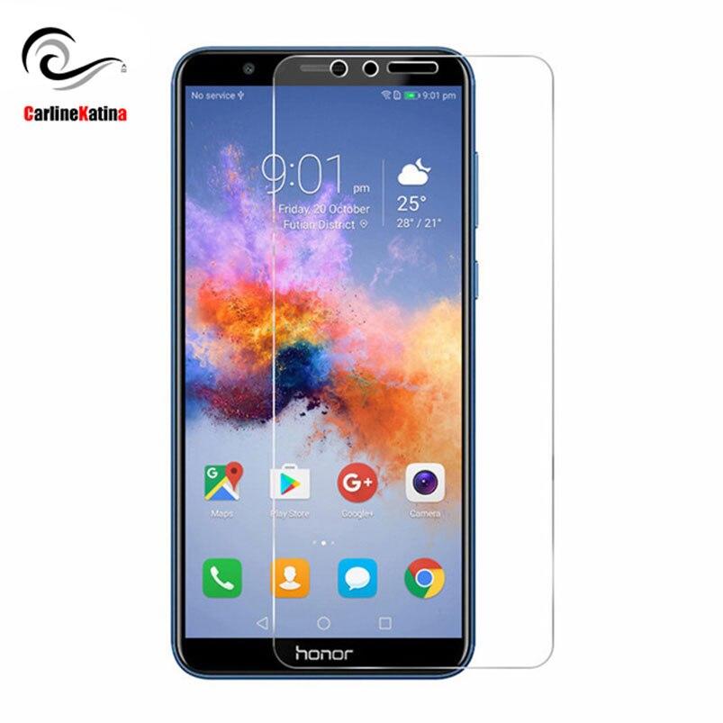 Protector de pantalla de vidrio templado 9H superior para Huawei Mate Nova 2i Y6 P8 P9 P10 lite 2016 2017 P Smart Honor 9 Protector de película frontal