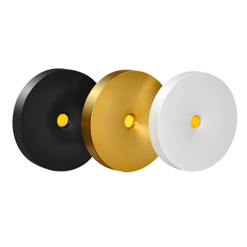 10 Uds LED Downlight montado en superficie 220V 3W 5W 7W Panel de luz de punto Ultra delgado iluminación interior lámpara de armario de cocina para el hogar