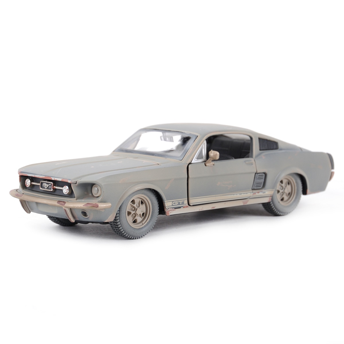 Maisto 1:24 1967 Ford Mustang GT Make the old version Highly-detailed die-cast precision model car Model collection gift