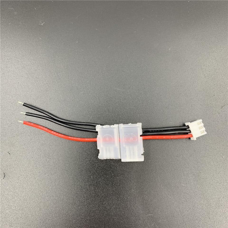 Couvercle de câble d'équilibrage 2S avec accessoires de verrouillage, connecteurs de batterie Lipo