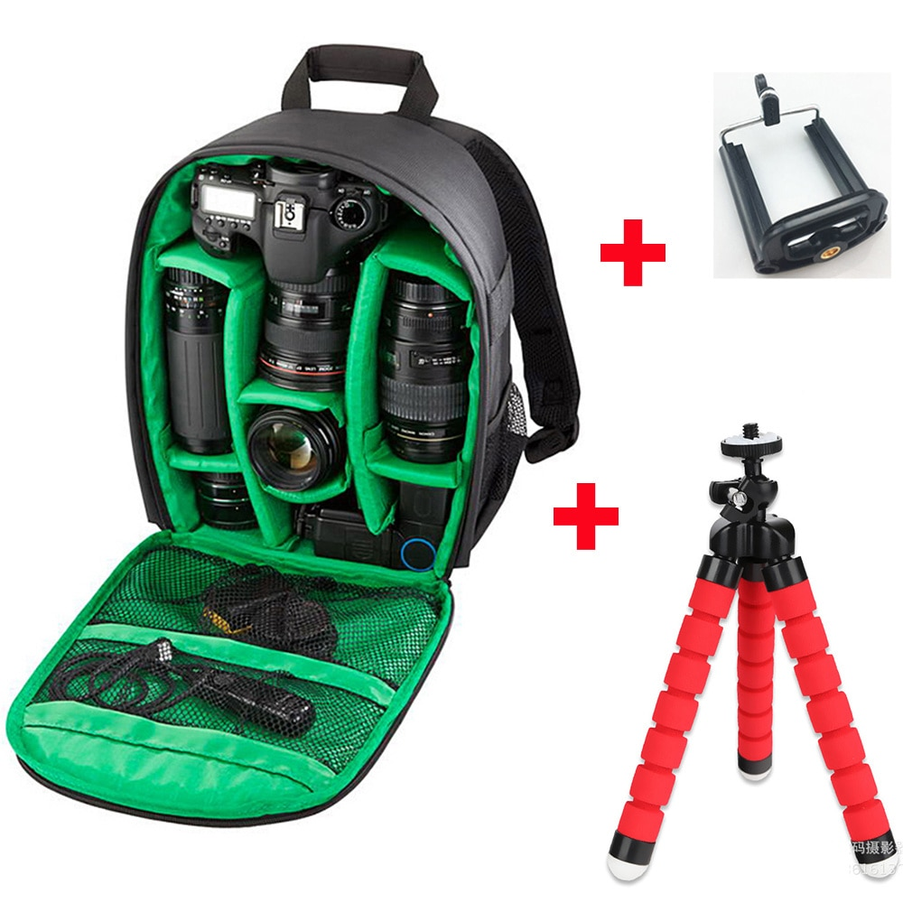 Bolsa impermeable para cámara de mochila de fotografía al aire libre para vídeo Digital DSLR funda para Nikon/Canon