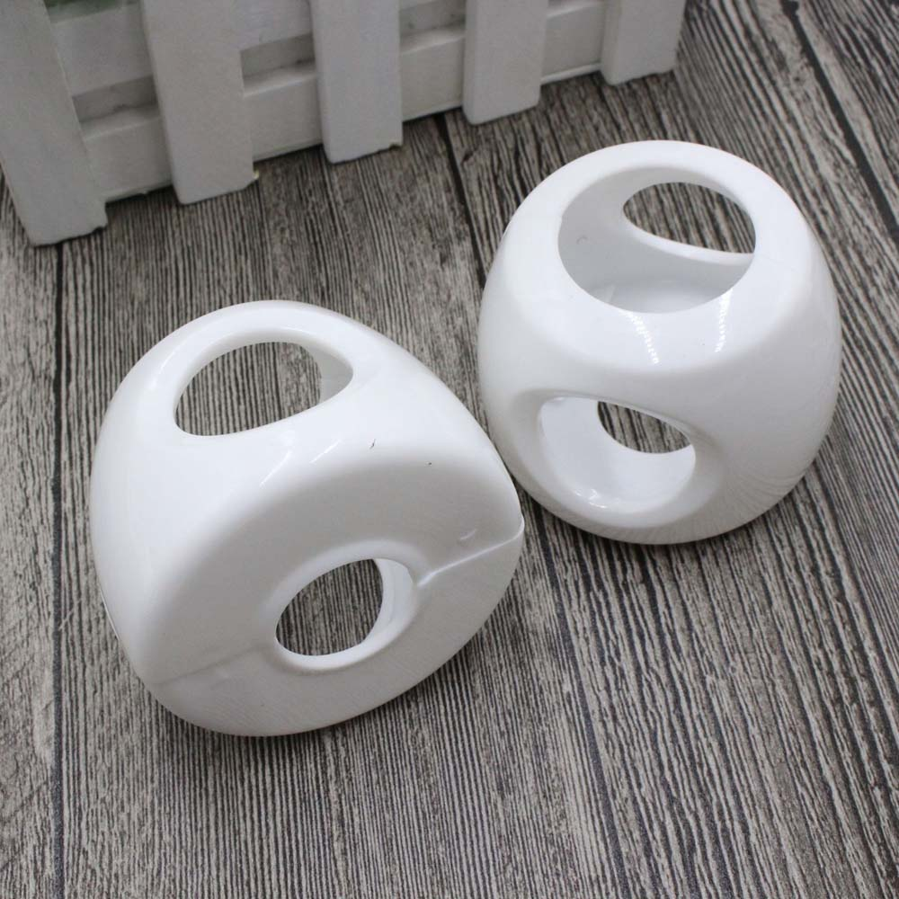 1PCS Plastic Safety Cover Doorknob Guard Protector Baby Protector Child Protection Products Anti-collision Door Round Knob
