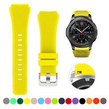 Correa de reloj para samsung galaxy watch 3, accesorios de 20mm, 22mm, 46mm, 45mm, 41mm, pulsera para huawei watch gt 2