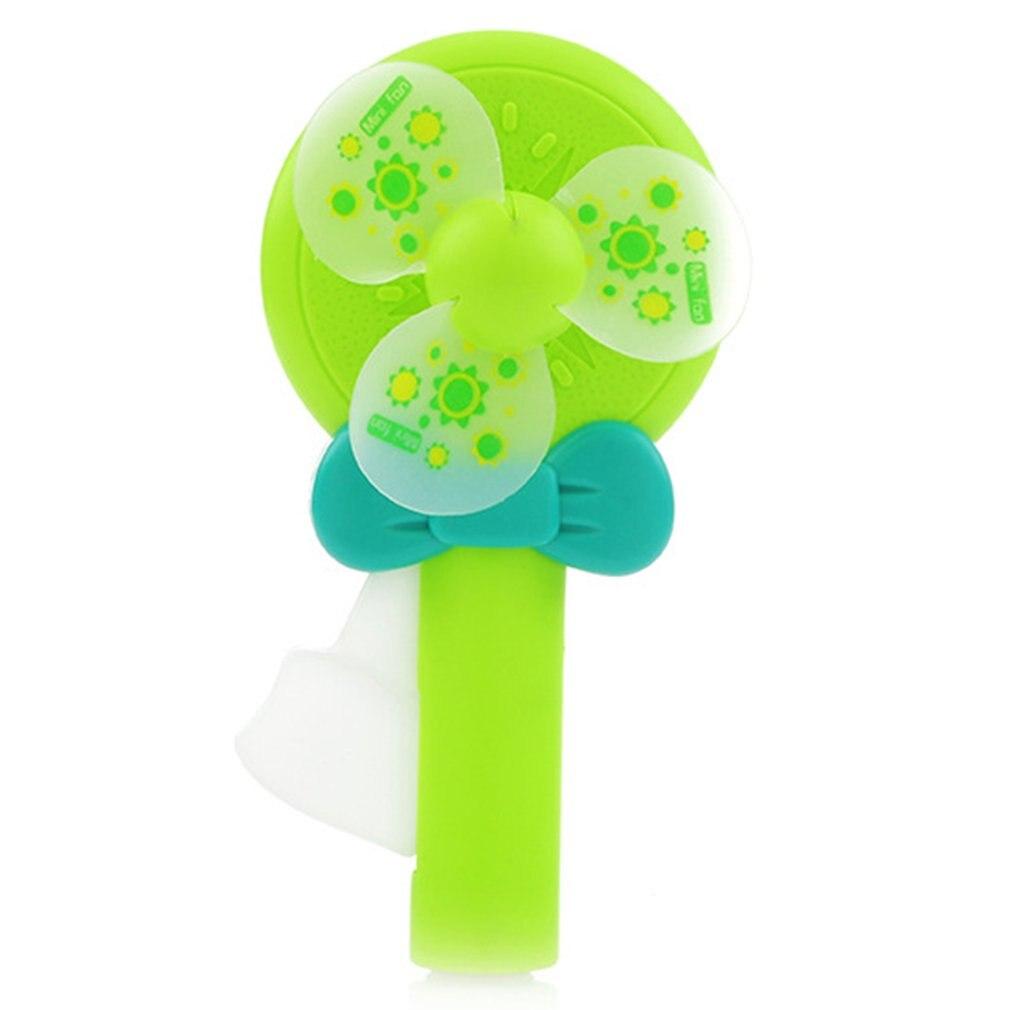 2018 new fresh fruit hand pressure small fan Pocket fruit portable hand-held press Clearance summer mini fan