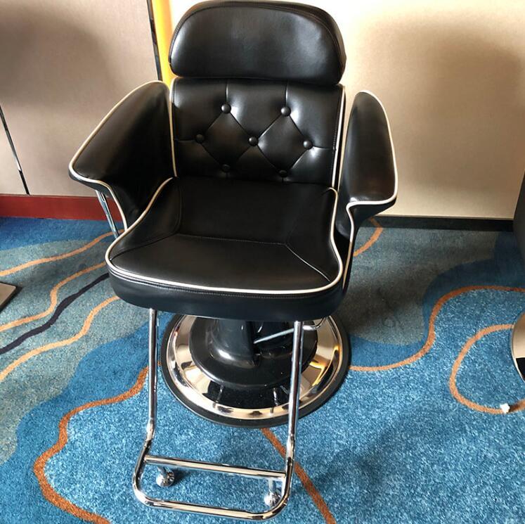 Индивидуальные трендовые парикмахерские стулья, ретро парикмахерские стулья в европейском стиле, парикмахерские стулья, стулья для парикм...