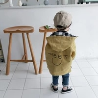 boys spring and autumn coats 0 9 yeats old childrens clothes baby kids reversible windbreaker kids causal jackets for boy