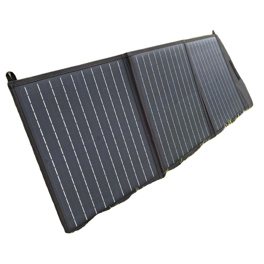Shinefar ألواح الطاقة الشمسية المحمولة 40 واط لوحات قابلة للطي عالية الكفاءة مقاوم للماء