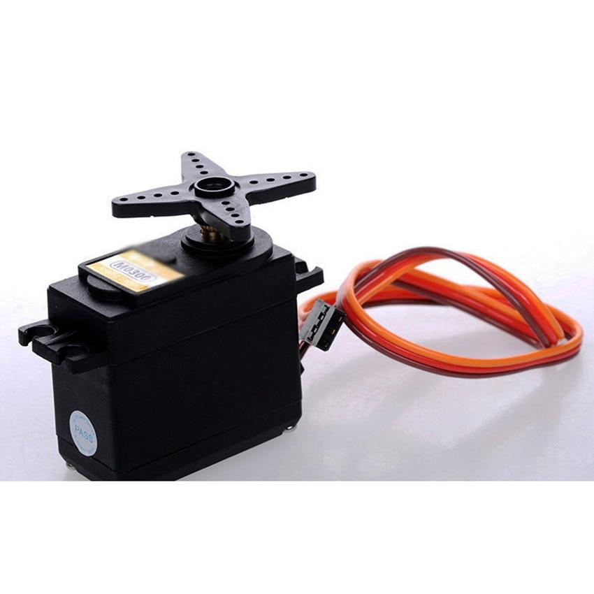 Micro Motor Servo Metal motored M0300 Servo 360 grados, doble rodamiento, Motor de núcleo de hierro, 4. 8V-6,0 V, Mini Servo de alto par