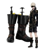 nier automata 9s yorha no 9 type c boots cosplay shoes boots custom made