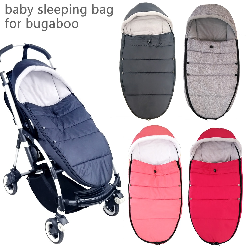 Bolsa de dormir de invierno para bebé, calcetines cálidos impermeables, accesorios de cochecito de bebé para Bugaboo Bee 3 Bee 5