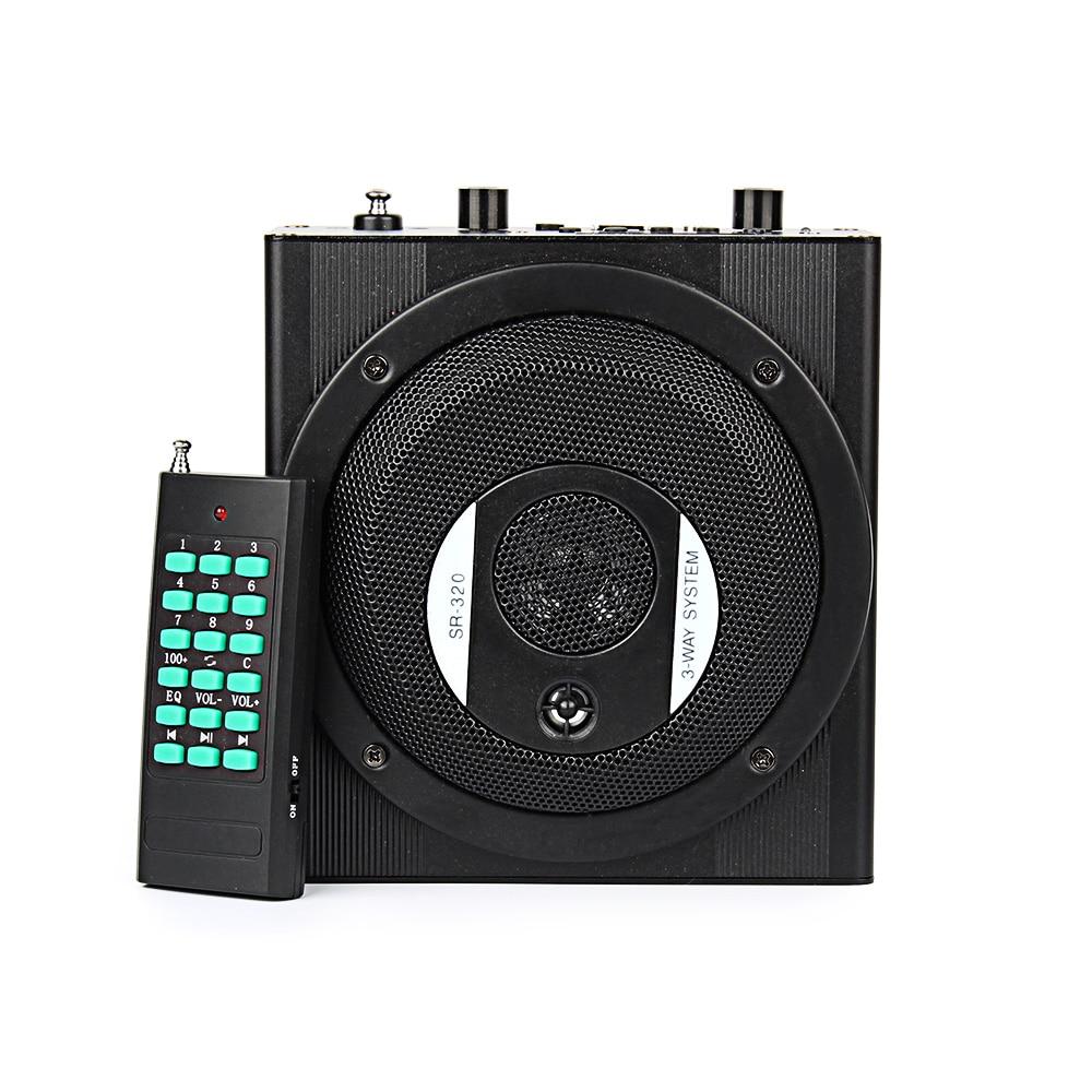 Altavoz portátil de voz amplificador megáfono amplificador altavoz PA USB sistema para la enseñanza, guía turístico, promoción de ventas,