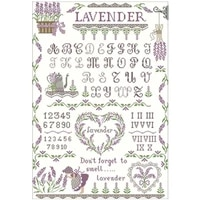 the world of lavender pattern counted cross stitch 11ct 14ct 18ct diy chinese cross stitch kits embroidery needlework sets