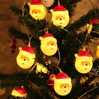 santa claus christmas new years garland led string lights home holiday decoration lighting for wedding party fariy garden light