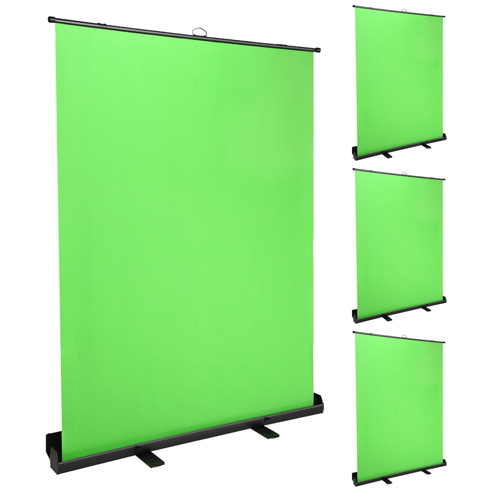 YeStarry 4 Pack Stand Green Screen Panel Faltbare Hintergrund 5x7 Ft für Video