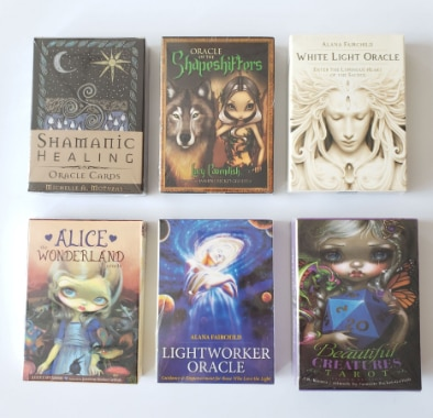 New English Oracle Cards Mysterious Fortune Tarot Deck For Divination Fate Lightworker Oracle family party game недорого